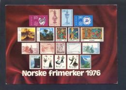 Noruega. *Norske Frimerker 1976* Nueva. - Sellos (representaciones)