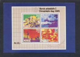 Noruega. *Frimerkets Dag 1985* Ed. Utgitt Av Postverket - MMF/1611. Nueva. - Sellos (representaciones)
