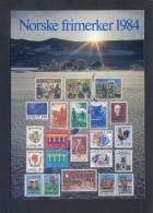 Noruega. *Norske Frimerker 1984* Ed. Utgitt Av Postverket - TMF/1437. Nueva. - Sellos (representaciones)
