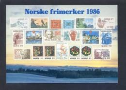 Noruega. *Norske Frimerker 1986* Ed. Utgitt Av Postverket - MMF/1842. Nueva. - Sellos (representaciones)