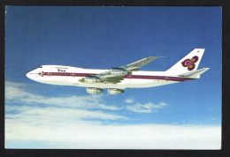 Avião Airplane Plan THAI B747-200B - 1946-....: Moderne