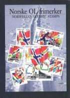 Noruega. *Norske OL-Frimerker* Ed. Utgitt Av Postens... - FF 342/93. Nueva. - Sellos (representaciones)