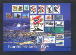 Noruega. *Norske Frimerker 1994* Ed. Utgitt Av Postens... - FF 40/94. Nueva. - Sellos (representaciones)