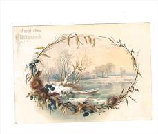 """Gelukwensen : """"Herzlichen Glückwunsch""""  - (omstreeks 1880 / 1890) - 11  X 8 Cm. - Fiches Illustrées"""