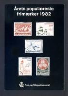 Dinamarca. *Arets Populaereste Frimaerker 1982* Nueva. - Sellos (representaciones)