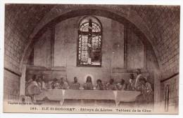 Cpa 06 - Ile Saint-Honorat  - Abbaye De Lérins - Tableau De La Cène - Autres Communes