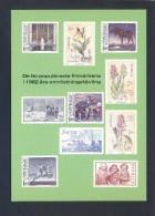 Suecia. *The Ten Most Popular Swedish Stamps 1982* Nueva. - Sellos (representaciones)