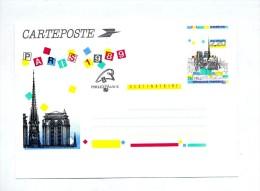 Carteposte  Paris Notre Dame - Postal Stamped Stationery