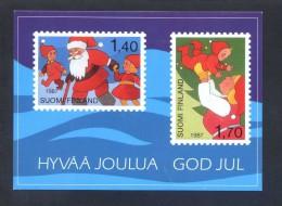 Finlandia *Gud Jul...* Ed.PK - PF. Nueva. - Sellos (representaciones)