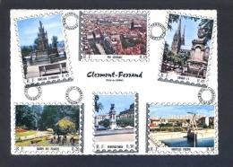 Francia. Clermont-Ferrand. Ed. Cim Nº 6. Circulada 1968. - Sellos (representaciones)