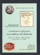 España. Barcelona. Ed. Galeria Filatelica De Barcelona. Circulada. - Sellos (representaciones)