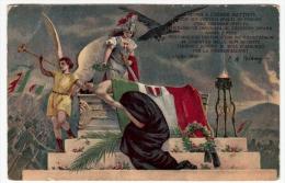 OPERA DI FRATELLANZA UNIVERSALE - CASA DEL SOLDATO - Y.M.C.A. CORPO AMERICANO - Vedi Retro - Formato Piccolo - Patriotiques