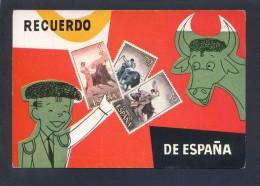 España. *Recuerdo De España* Ed. Excl. Victor Mod. Nº 1. Nueva. - Sellos (representaciones)