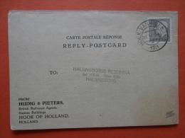 31058 PC SWEDEN:  BRITISH RAILWAYS (Eastern Region) Nightsteamer From Harwich To Hook Of Holland. (Postmark 1961). - Suède