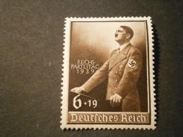 """Deutsches Reich Michel Nr. 701 """"Reichsparteitag 1939"""" Postfrisch - Allemagne"""