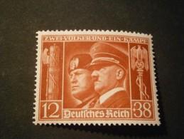 """Deutsches Reich Michel Nr. 763 """"Waffenbrüderschaft Italien"""" Postfrisch - Allemagne"""
