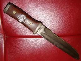 BEAU POIGNARD DE COMBAT PARA BAIONNETTE WW2 - Armas Blancas