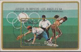 Nicaragua - 1984 - Olympics, Olympiade, Olympiques - Los Angeles 1984 - Gebruikt/gebraucht/used - Zomer 1984: Los Angeles