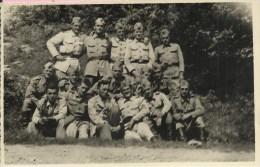 Photograph - Soliders, Yugoslavia (8,5 x 13,5 cm)