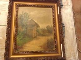 Très  Beau Tableau De Barbaud Koch 1862-1928 - Huiles