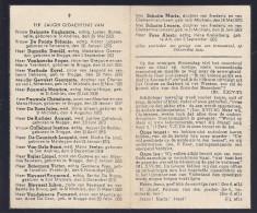 DP OORLOGSSLACHTOFFERS BOMAANVAL 1944 SINT-MICHIELS KASTEEL TER LINDEN DELPORTE DUMALIN VERLINDE PAUWELS BIGLER SCHOTTE - Images Religieuses
