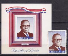 Liberia1968: Yvert454,Block43mnh** - Liberia