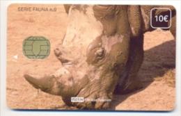 ISERN  Tarjeta Para Teléfono Y TV En Hospitales, Usada, Perfecto Estado, Serie Fauna Nº 9bis - Emissions Basiques