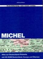 Atlas Der Welt-Philatelie MlCHEL 2013 New 79€ Mit CD-Rom Zur Postgeschichte A-Z Mit Nummernstempeln Catalogue Of Germany - Collections