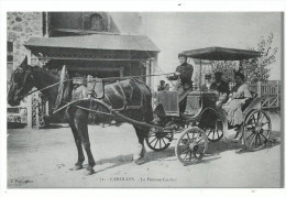 CAROLLES , La Femme Cocher  REPRODUCTION édition Neurdin, ....2 Scans Tirage Limité  889/1000 - France