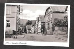 AK Luftkurort Lauenstein I. Sächs. Hauptstrasse - Lauenstein