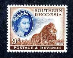 1883  Southern Rhodesia 1953  Scott #88  M*  Offers Welcome! - Südrhodesien (...-1964)