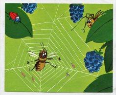 SB3131 Gloria - Die Biene Maja Bild 33 Maja Im Spinnennetz - Kaufmanns- Und Zigarettenbilder