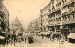 Bruxelles - TRAMS Hyppo / Perspective Des Bds Anspach Et Du Nord / ND Phot N°100 - Belgien
