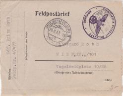 Feldpostbrief Obl.MULHEIM ( RUHR ) Le 29.8.1942 - Lettre D'un Soldat Allemand - Allemagne