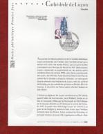 """"""" CATHEDRALE DE LUCON """" Sur Notice Officielle 1er Jour De 2004  N° YT 3712.  Parfait état. - 2000-2009"""