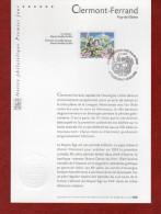 """"""" CLERMONT-FERRAND """" Sur Notice Officielle 1° Jour De 2004  N° YT 3656. Parfait état - 2000-2009"""