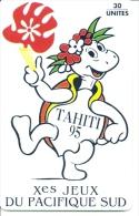 ** < PF35 ¤ Jeux Du Pacifique - Tahiti 95 - Tortue - TBE - Polynésie Française