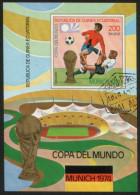 Äquatorial Guinea / Equatorial Guinea -  Block Gestempelt / Used (V553) - Coppa Del Mondo