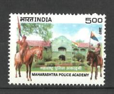 INDIA, 2007,  Maharashtra Police Academy Centenary, Nasik,  MNH,(**)