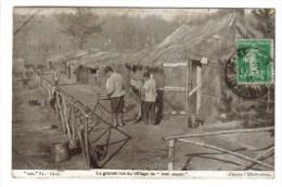 """CPA MILITARIA GUERRE 1914-18 - Cantonnements De """"l'arrière"""" : La Grande Rue Du Village """"Bon Espoir"""" - War 1914-18"""