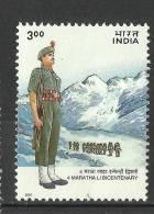 INDIA, 2001,  Bicentenary Of 4th Maratha Light Infantry,   MNH, (**)