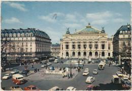 Paris: CITROËN TUBE HY, DS AMBULANCE, SIMCA 1000, RENAULT FLORIDE, ESTAFETTE, GOELETTE - L'Opéra - Auto/Car/Voiture - Passenger Cars