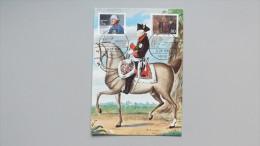 Deutschland Bund 1292 Yt 1124 Mit Berlin 764 Maximumkarte, Beide ESST Berlin, König Friedrich Der Große Von Preußen - [7] Repubblica Federale