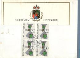 (662) Liechtenstein Cover - 1966 - Liechtenstein