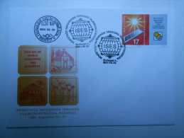 Hungary 1993. Sun Energie Segmental Stamp On FDC - FDC