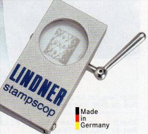 Wasserzeichen-Sucher STAMPSCOP Neu 69€ Zum Prüfen Von WZ Auf Briefmarken Check Of Stamps Paper Wmkd. LINDNER Offer 9111 - Zubehör