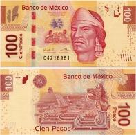 MEXICO        100 Pesos     P-124       10.1.2012       UNC  [sign. Ramos] - Mexico