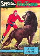 Spécial Le FANTÔME 47 : La Fille Sauvage ( Lion ) + Cheyenne Kid ( BD Western ) , éo REMPARTS 1967 TTBE+ - Phantom
