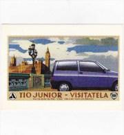 C-1079 Cartolina Pubblicitaria Lancia Y10 Mia - Pubblicitari
