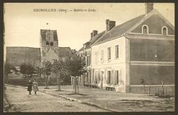 GRISOLLES Rare Mairie Et Ecole (Cosson) Aisne (02) - France
